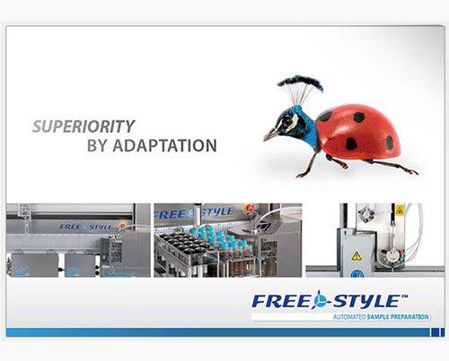 Broschüre Unternehmen Labortechnologie