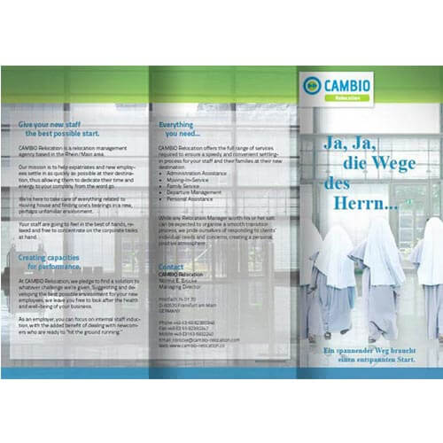 Broschüre Relocation-Management