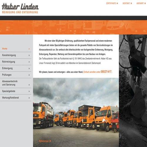 Homepage Entsorgungsunternehmen
