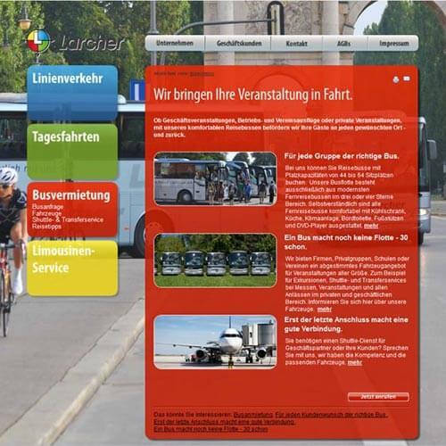 Website Busunternehmen