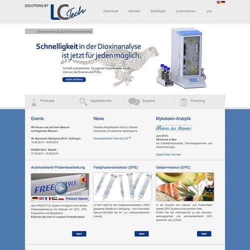 Website Labortechnologie