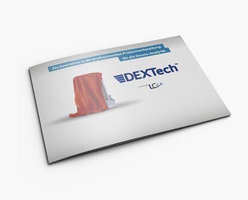 Broschüre 16 Seiten für ein Unternehmen für Labortechnologie