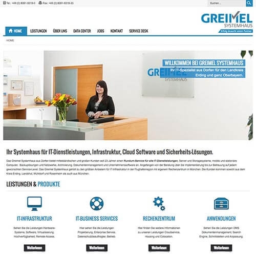 Website IT-Systemhaus