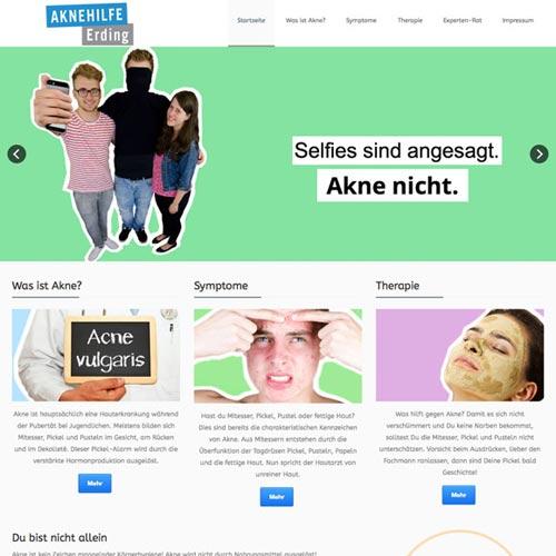 Website Hautarzt