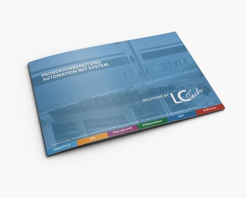 Broschüre 40 Seiten Labortechnologie