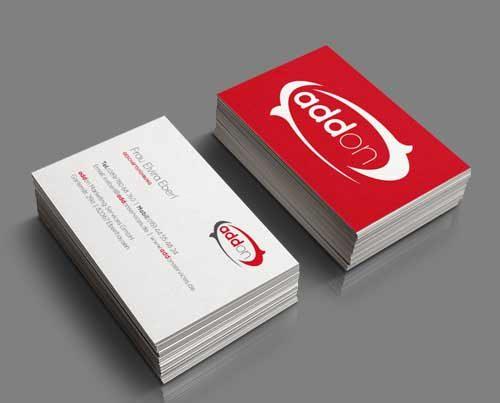 Visitenkarte Unternehmen Marketing
