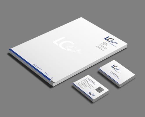 Corporate Identity Labortechnologie