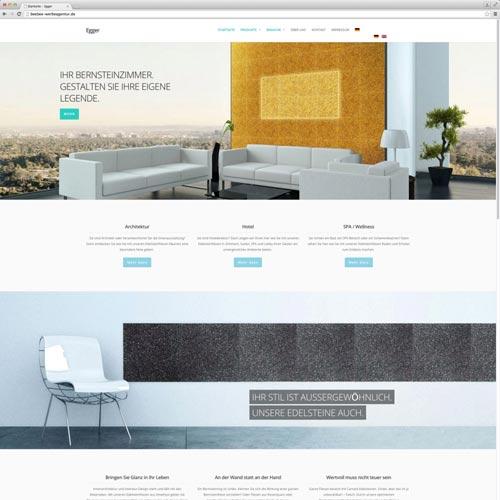 Website für edle Steine