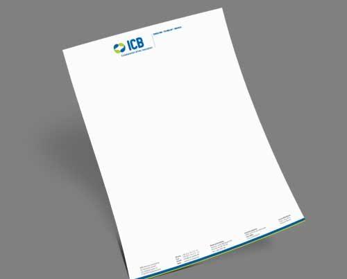 Briefpapier IT-Unternehmen