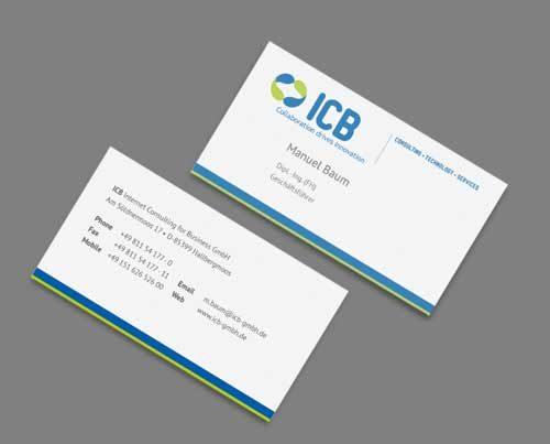 Visitenkarten IT-Unternehmen