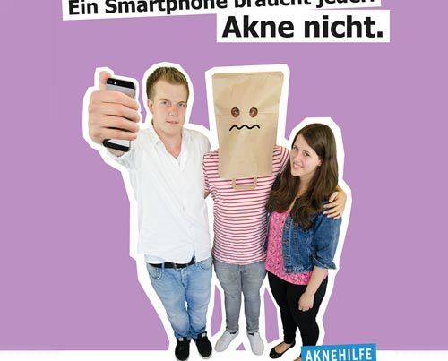 Printkampagne Hausarzt Akne