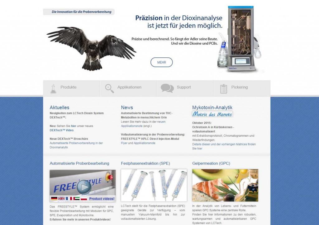 Aktuelle Website dient als Basis für neue Typo3 Website