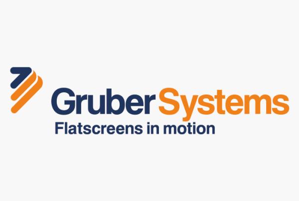 Logodesign Flatscreenhalter