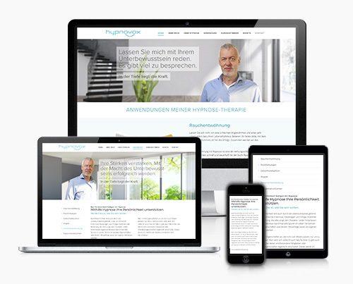 Website Hypnose Therapeut Wordpress Thumb