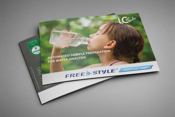 Brochüre Wasseranalyse Titelseite
