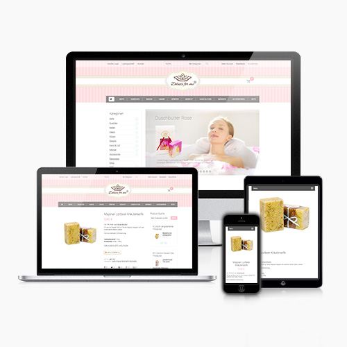 Online Shop eCommerce Seifenmanufaktur Thumb