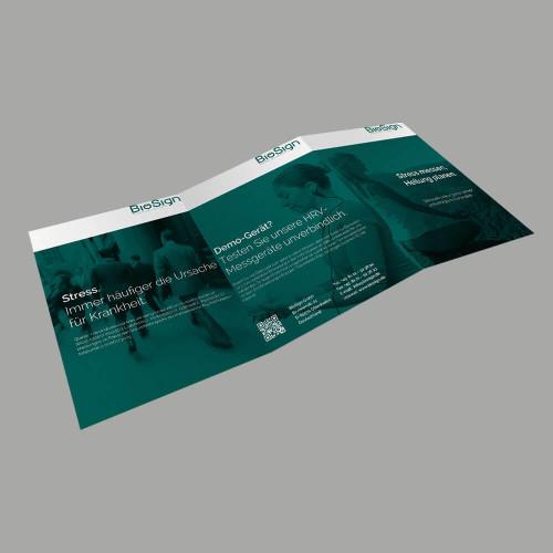 Broschüre HRV Scanner Titelblatt