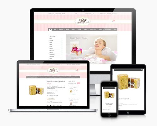 Online Shop eCommerce Seifenmanufaktur Thumb