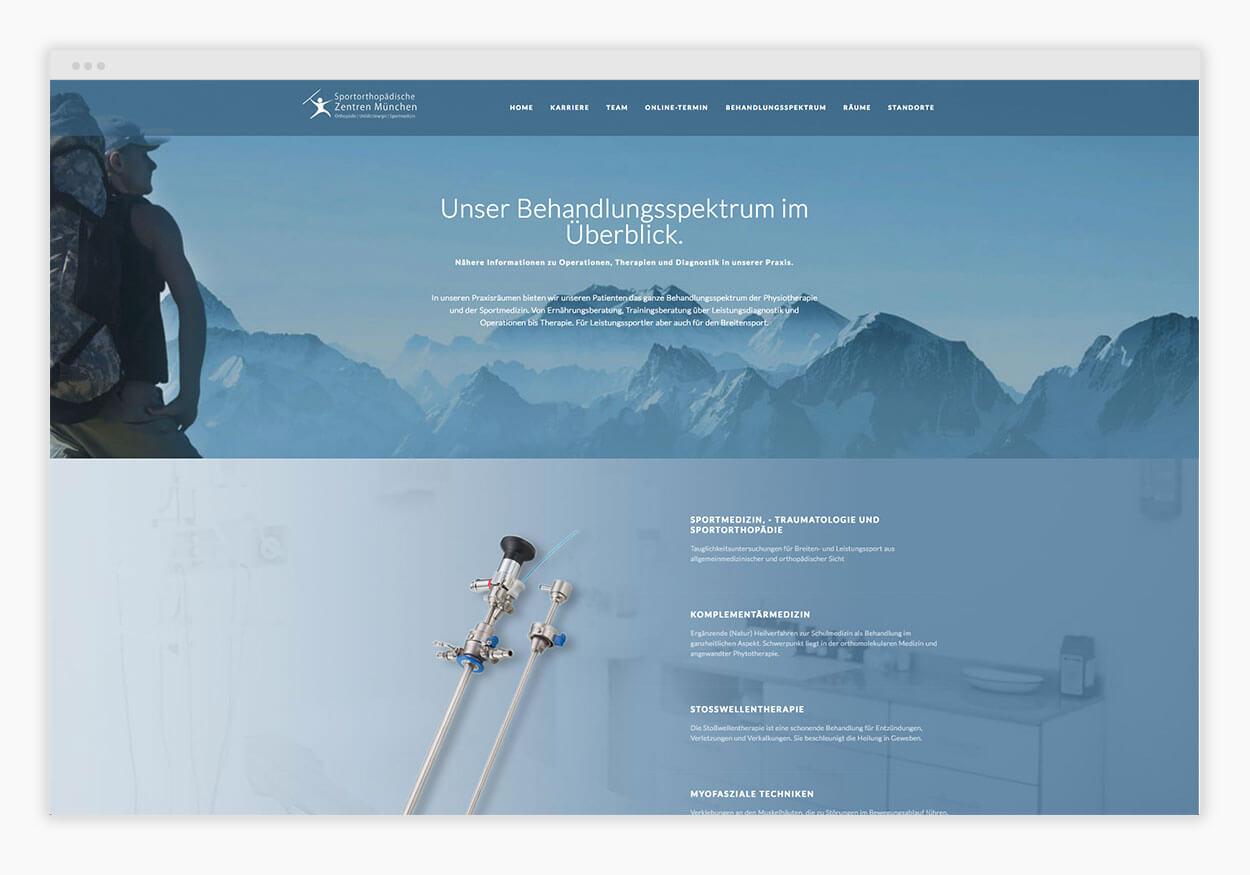 arzt-website-behandlung