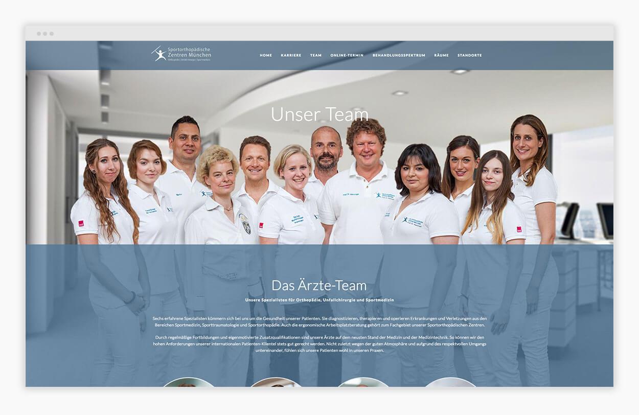 arzt-website-team