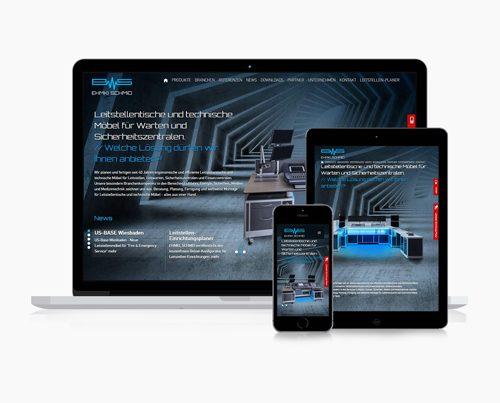 website technik leitstellen responsive