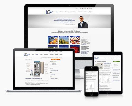 Website Labortechnologie Typo3