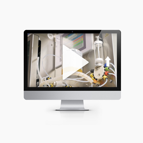 Produktfilm-Labortechnologie-Film-Animation