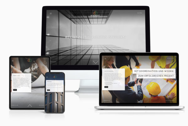 Website Projektmanagement, Gebäudesanierung