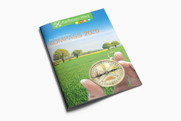 Pflanzenschutz-Kompass 2020 Titelseite Raiffeisen Warengesellschaft