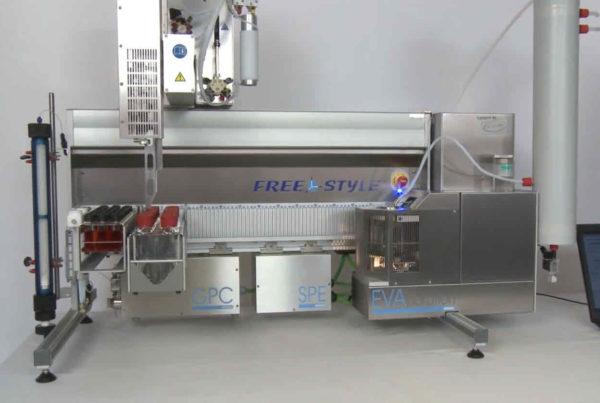 Freestylesystem mit GPC-Modul zur automatisierten Probenvorbereitung