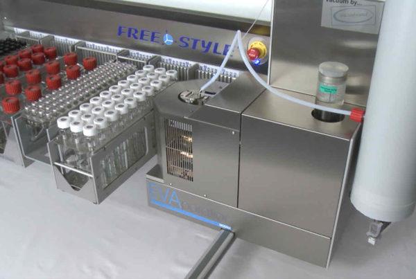 Evaporationsmodul für LCTech Freestylesystem zur automatisierten Probenvorbereitung.