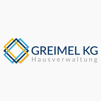 Logo-Gestaltung Hausverwaltung Greimel KG
